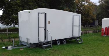 Portable toilets for hire