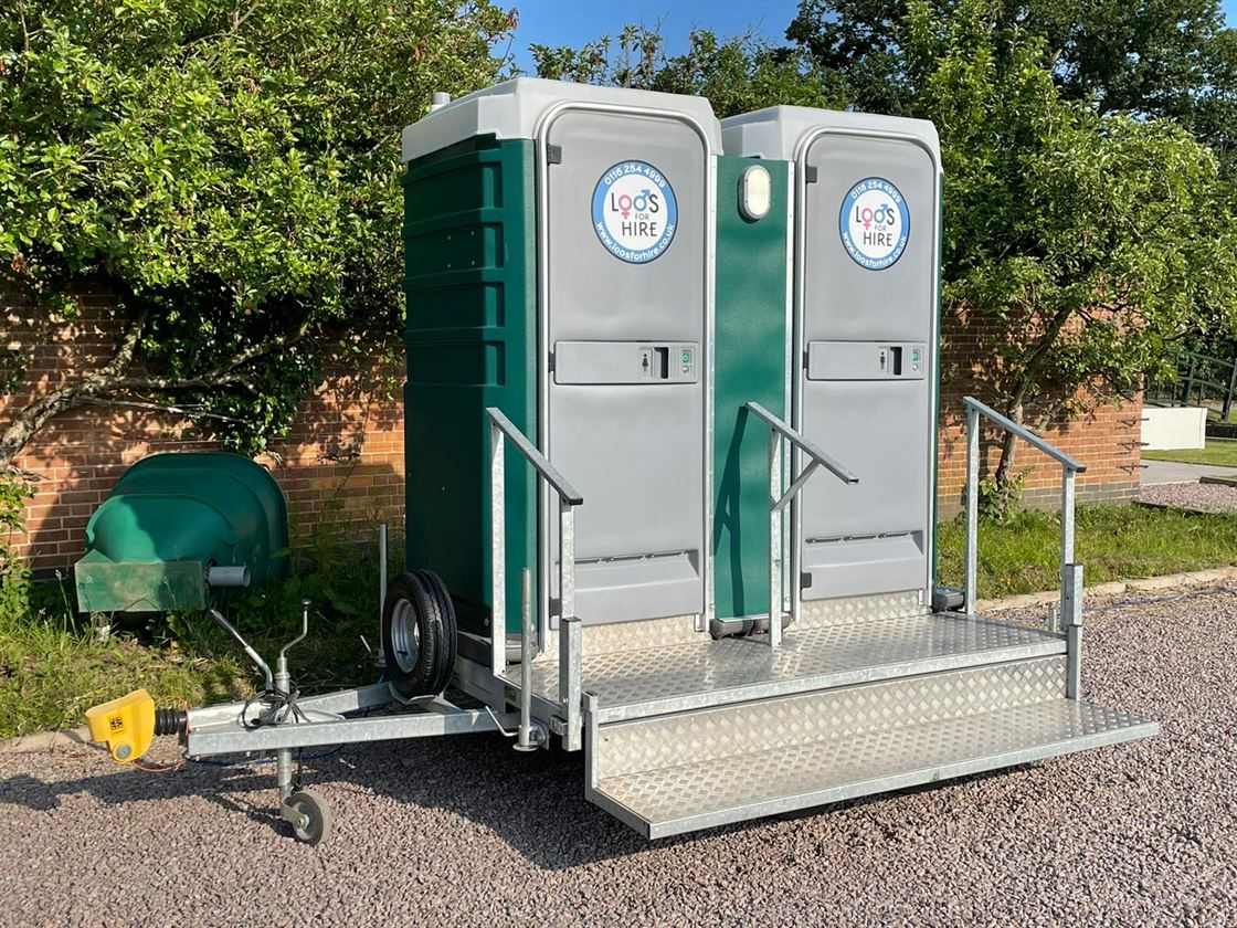 wo Premium portable toilets by Loos for Hire